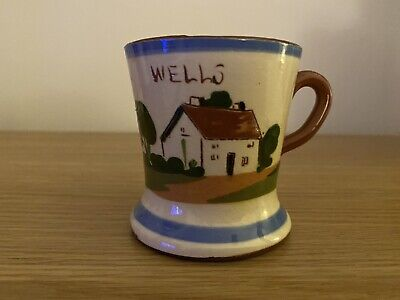 Royal Watcombe Torquay Pottery Mug 1935 - 1962 • 2.50£