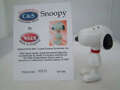 Wade C&s Snoopy With Red Collar L/e 500 (refs 226/15) • 6.99£