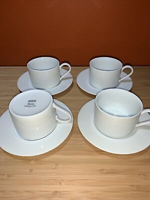 M&S Maxim Cups And Saucers X4 • 7.99£
