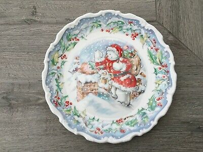 Royal Doulton The Snowman - The Visit Plate - Boxed • 60£