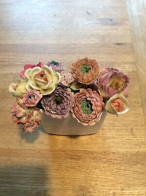 Collection Of Porcelain Flowers • 7£