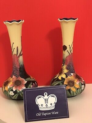 "New Old Tupton Ware Summer Bouquet Bud Vase 8"" • 3.20£"