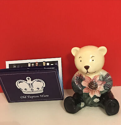 Old Tupton Ware Teddy Bear Floral Summer Bouquet • 8.99£