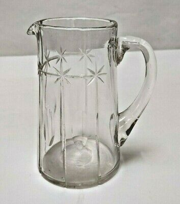 Edwardian Cut Glass Jug In Perfect Condition. • 5£