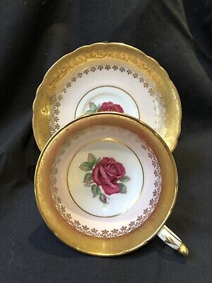 Vintage Paragon Cabinet Cup And Saucer • 102£