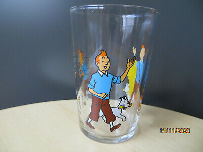 Tintin  And Snowy Glass - 1974 - Rare • 12.99£