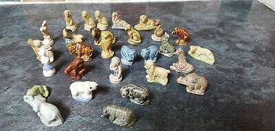 Job Lot Vintage Collectable Wade Whimsies Animal Figures X 32 - Good Condition • 15£