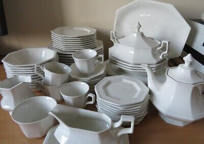 JOHNSON BROTHERS Heritage White DINNER & TEAWARES MULTI-LISTING UNUSED COND • 16.50£
