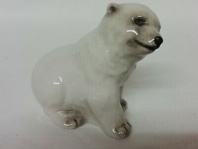 Vintage Branksome China Polar Bear Cub Circa 1949 Good Condition • 15£