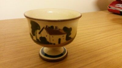 Devon Mottoware Footed Bowl Approx 3.25  Dia Perfect  • 15£