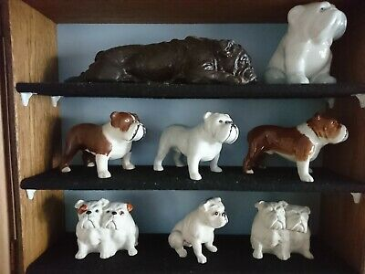 Collection Of 6 Beswick Bulldog 2 UNLISTED Colours And More  • 205£