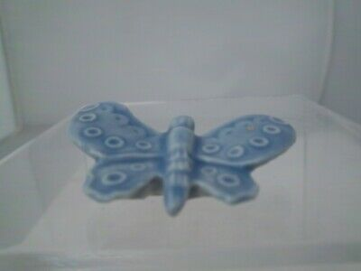 Wade Butterfly  Whimsie - Blue -  Tom Smith  Hedgerow 1998 (refs 91/16) • 1.99£