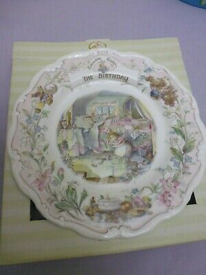 ROYAL DOULTON BRAMBLY HEDGE The BIRTHDAY 1ST QUALITY Boxed • 19.95£