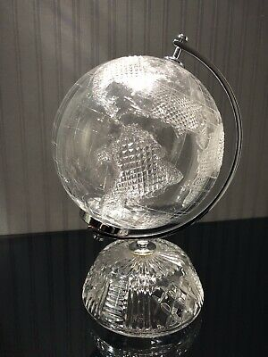 Waterford Crystal Globe. Discontinued - Vintage - Rare • 825£