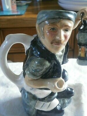 Roy Kirkham Coal Miner Toby Jug Staffordshire Pottery Hand Painted  • 2.99£