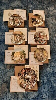 Royal Doulton Old Country Crafts Full Set Of 13 Bradex Including Finale • 12£