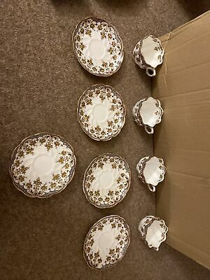 William A Adderly & Co China Set • 6.30£