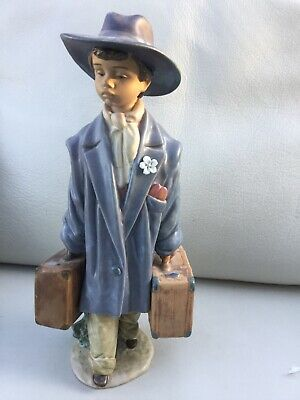 """Lladro Gres Figurine """"TIME TO GO """" No 2339.  12"""" • 140£"""