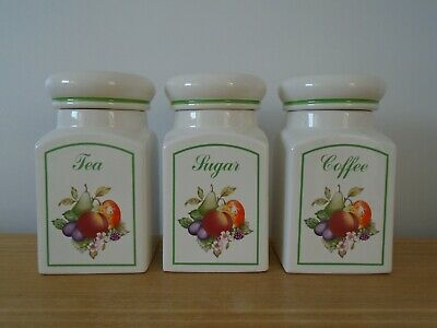 Johnson Brothers Fresh Fruits Storage Jars - Pls Read Description • 10£