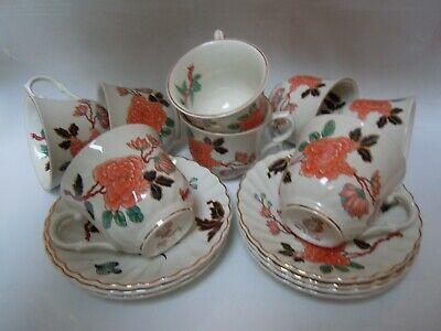 James Kent - Old Foley - 'Eastern Glory' Cups & Saucers • 14.99£