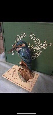 Rare Beswick Limited Edition Kingfisher With Certificate • 135£