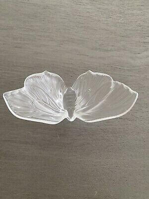Lalique Glass Butterfly • 28£