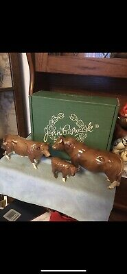 Rare Beswick Set Of Limousin Cattle BCC Limited Edition • 800£