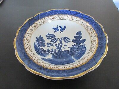 "Booths ""Real Old Willow"" Fruit Dish - A8025 - Made In England • 2.95£"