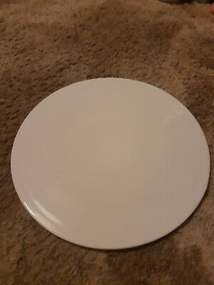 White Denby James Martin Pizza Plate/ Dessert, Cheesecake Plate • 5£