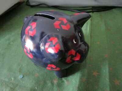Nat West China 'Piggy Bank' Original Stopper Mint Condition Very Collectable • 6£