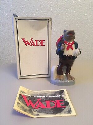 Boxed Wade Newark Travelling Frog 1998 Figure Perfect Condition • 8£