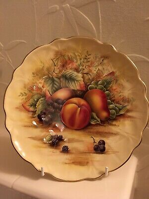 Aynsley Orchard Gold Plate  • 9£