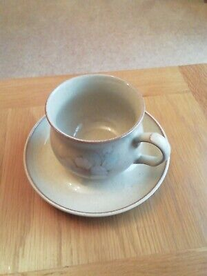 Denby Daybreak 1 Cup And Saucer • 2.10£