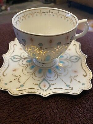 X2 Marks & Spencer Hollywood Vintage Style Tea Cup & Saucer • 21£