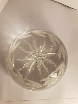 Galway Crystal Paperweight  • 12£