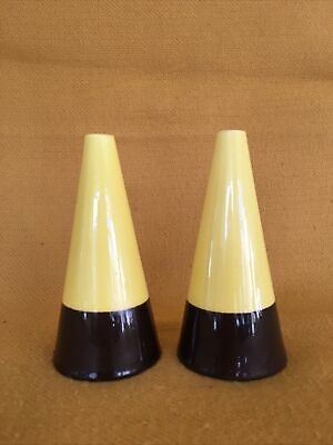 Hornsea Pottery Clip'n Carry Conical Salt And Pepper Cruets 1964-65 • 15£