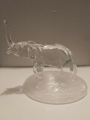 Elephant Leaded Crystal Collection Figurine Cristal D' Arques (?) • 5£