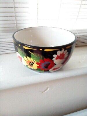 Canal Ware Painted Small Pottery Bowl • 4.99£