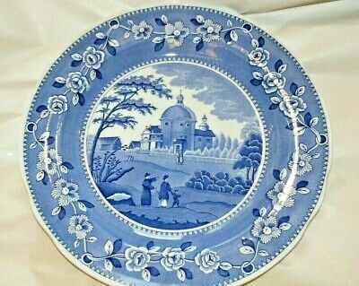 Spode: The Engravers Archive Collection:   Italian Church  1820 Large Plate • 17.50£