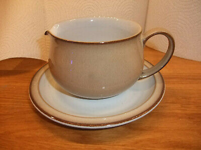 Denby  Gravy Jug And Saucer In Excellent Condition, New Modern Design. • 15£