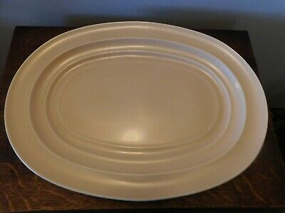 Vintage Large Beige Serving Plate Branksome China Date 1945 -1956 • 12£