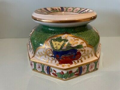 "Interesting19th Century Inkwell Decorated With ""Dragon In Compartments""  • 9.99£"