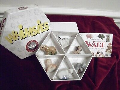 Whimsies Boxed Set Of Six. • 7.50£