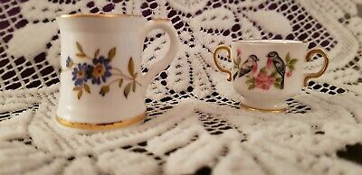 Miniature Spode And Hammersley Loving Cup And Tankard • 8.99£
