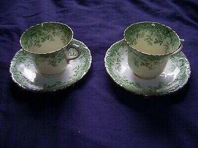 Pair Of Vintage Paragon China Tea Cups And Saucers • 3.99£