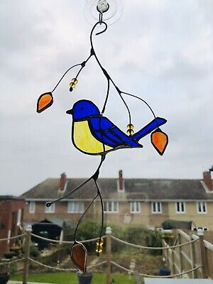 Stained Glass Blue Tit  • 23£