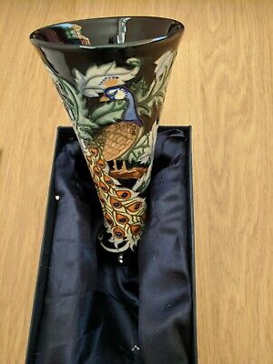 Old Tupton Ware Peacock Vase TW1903 • 34.99£