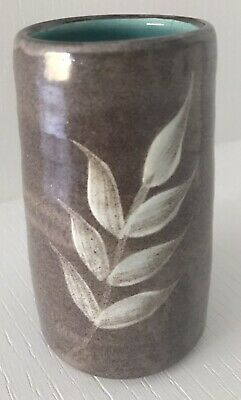William Fishley Holland Decorative Pottery Small Vase - Signed • 6£