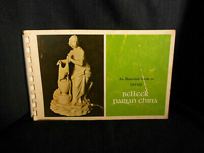 Belleek Book Illustrated Collectors Guide     E J Lease 1969 • 25£