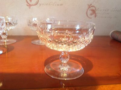 Waterford Crystal Colleen Short  Champagne Saucers/glasses (up To 6 Available) • 65£